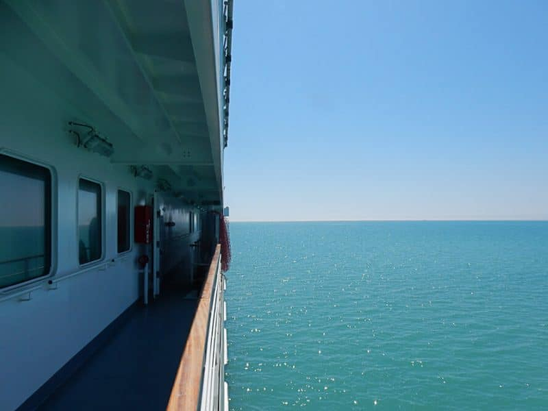 Caspian Sea Crossing