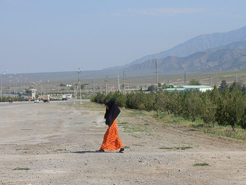 Rural Turkmenistan