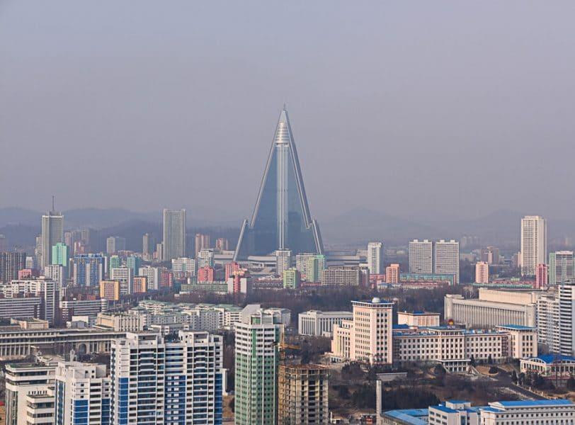 Ryugong Hotel,Pyongyang, North Korea