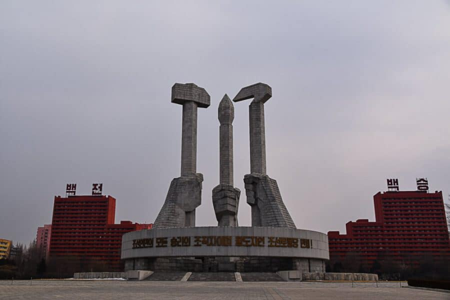 Party Monument, Pyongyang
