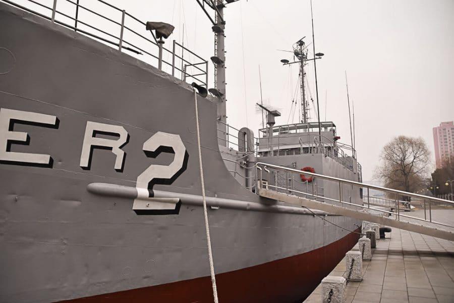 Pyongyang landmarks, USS Pueblo, North Korea