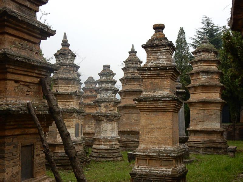 Pagoda Forest, Shaolin