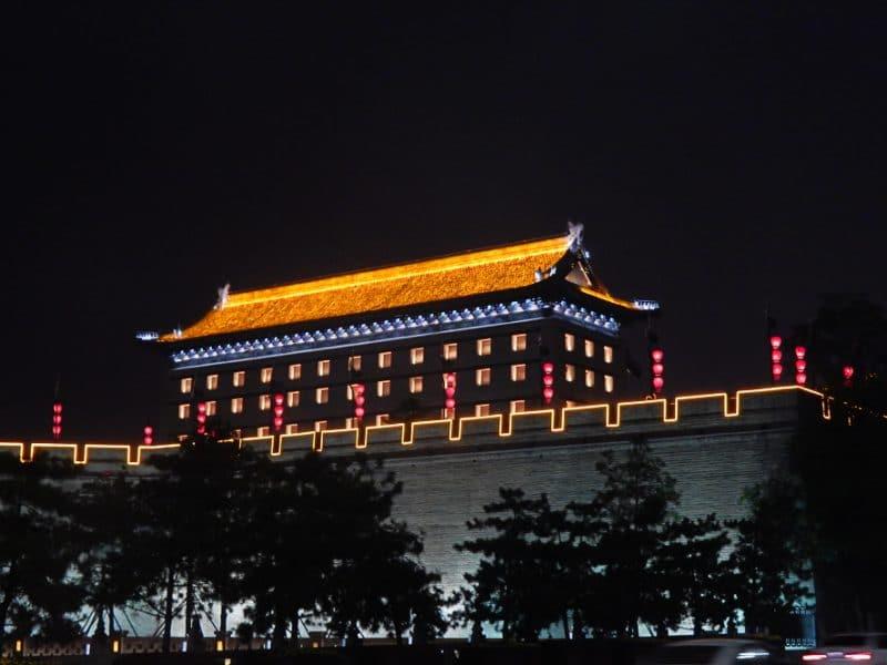 Xian Attractions - City Walls