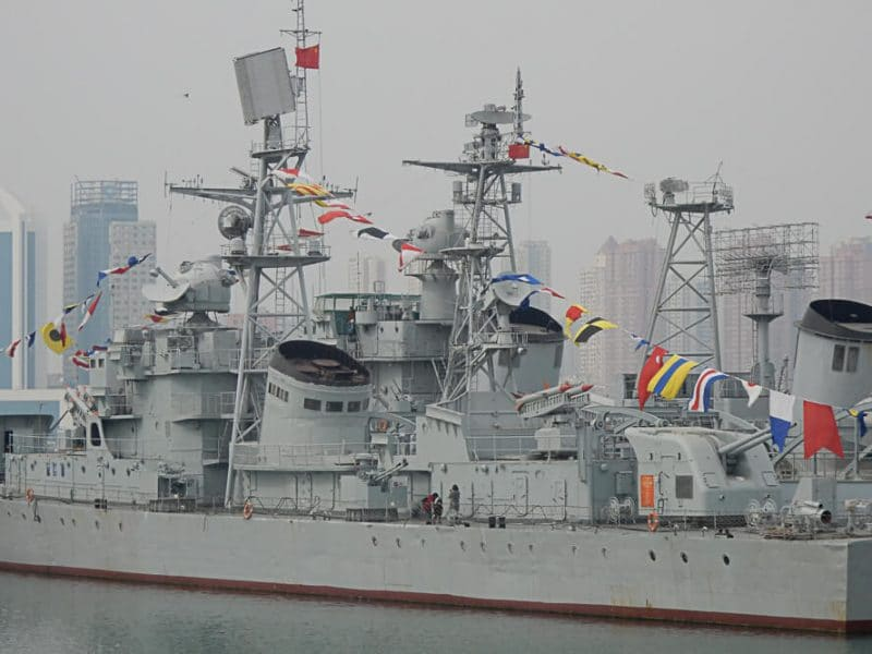 Warship, Qingdao