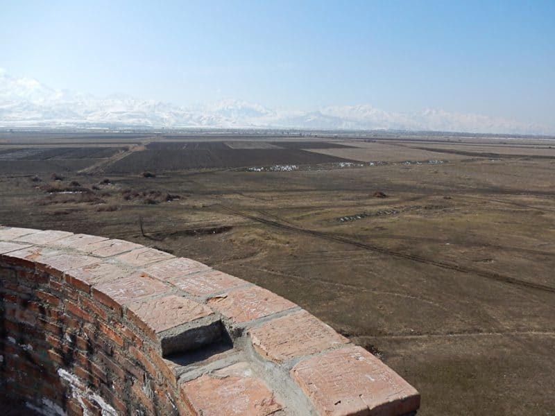 View from Burana Tower