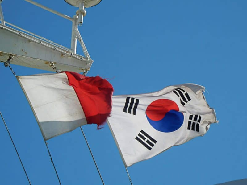 China to Korea Ferry
