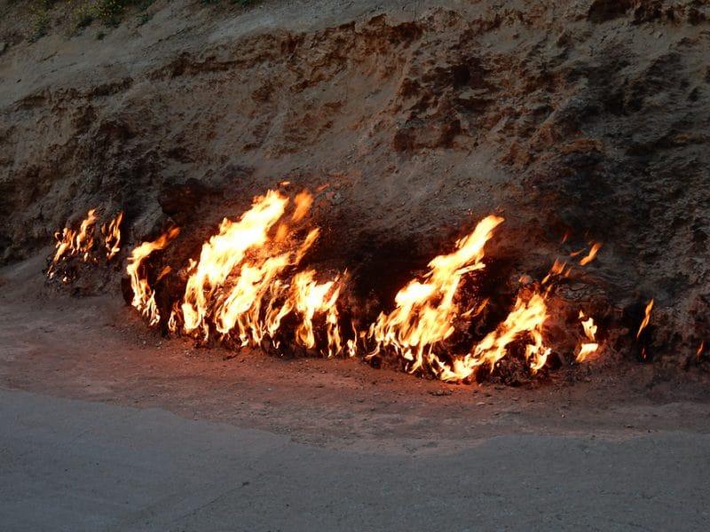 Yanar Dag (Fire Mountain), Azerbaijan