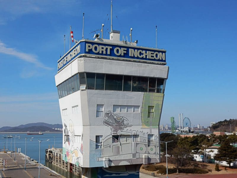 Incheon Port Building