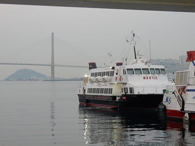 Busan to Fukuoka Ferry