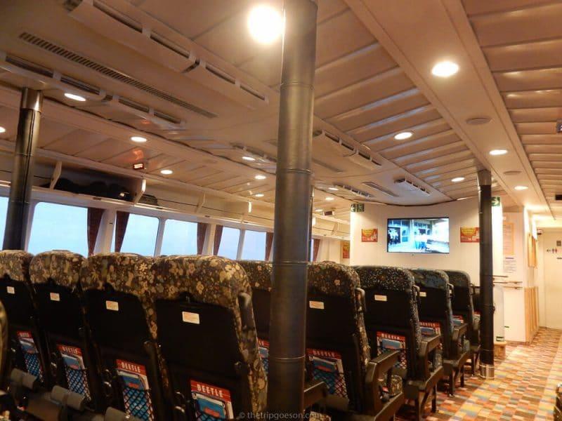 JR Beetle Ferry, Busan to Fukuoka