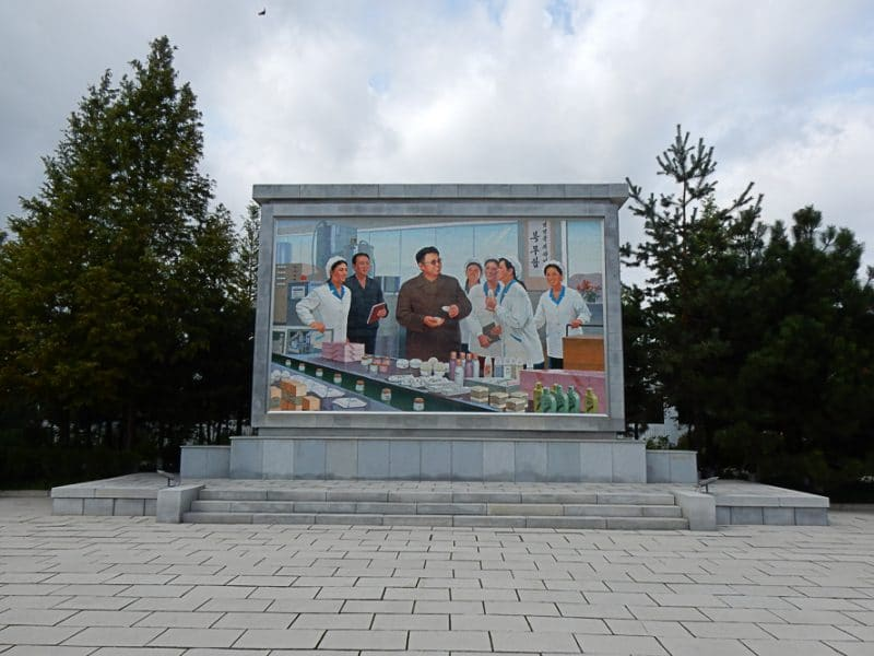 Sinuiju, North Korea