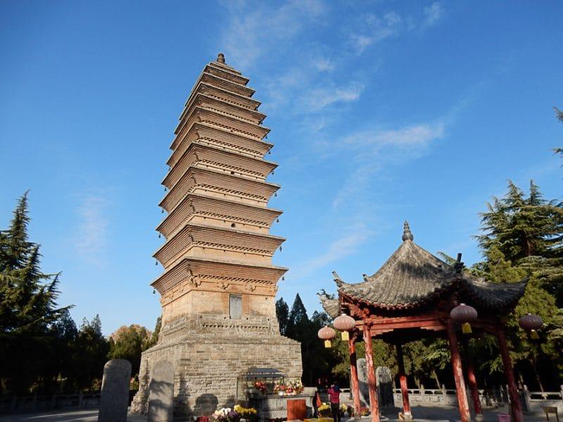 Pagoda, White Horse Temple