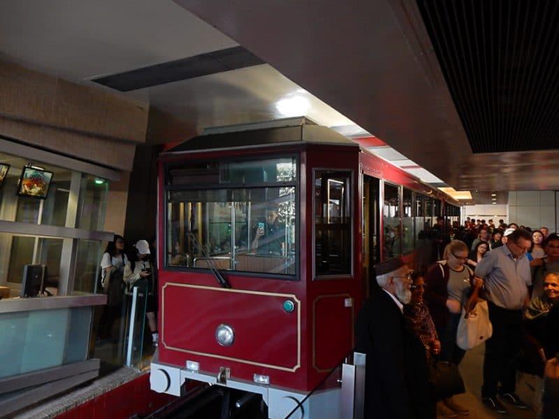 Victori Peak Tram, Hong Kong