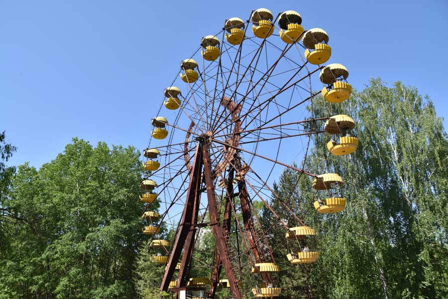 Ferris Wheel at Pripyat Amusement Park