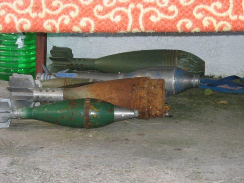Mortar Rounds, Bosnia, dark tourist