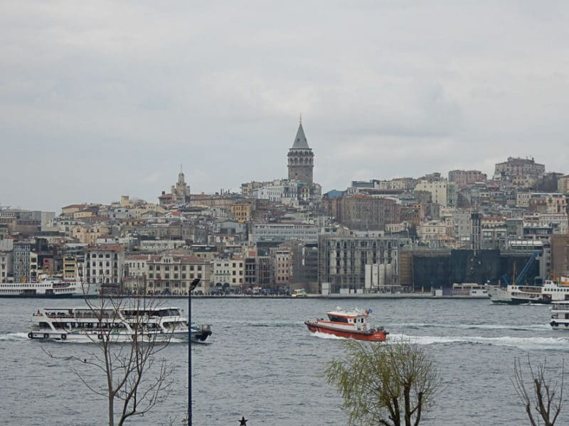 Bosphorus, Turkey.along the silk road