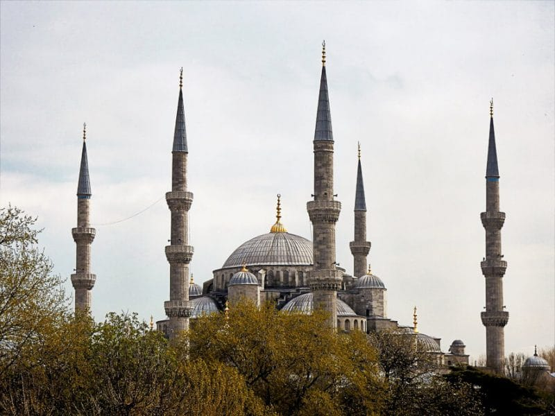 The Blue Mosque, Istanbul, Turkey, the silk road