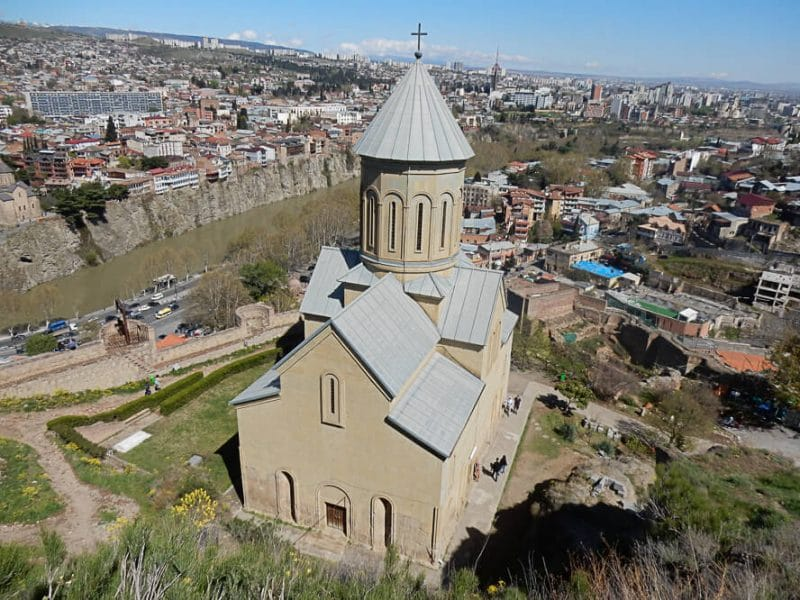 Church in Tbilisi, Georgia along the Silk Road