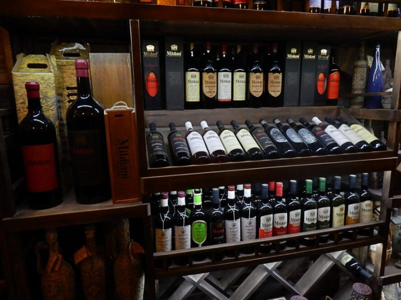 Georgian Wine is eaasily found on the Silk Road