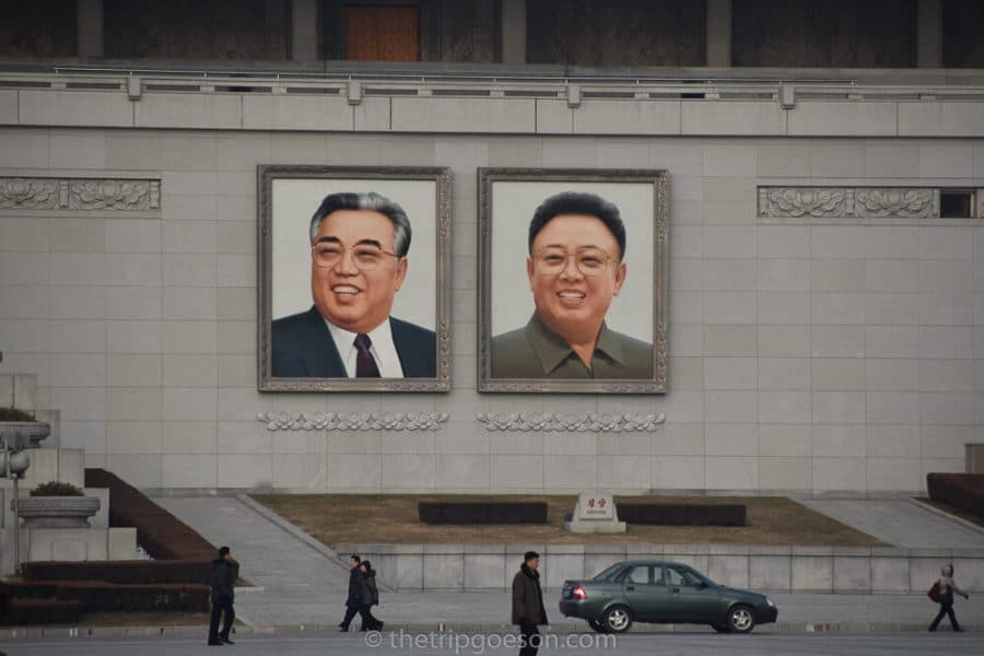 Kim Il Sung Square, North Korea, Pyongyang