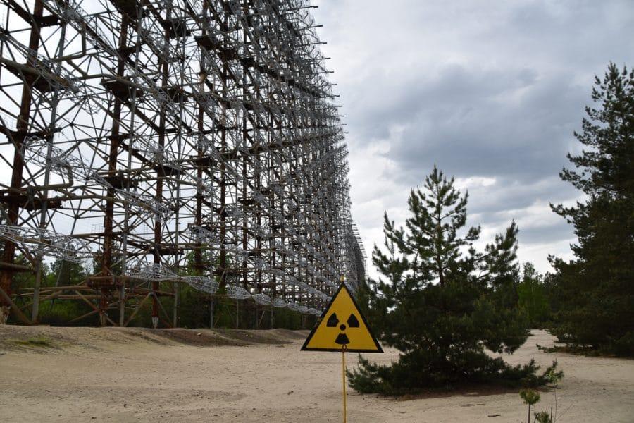 Duga Radar Station at Pripyat, Chernobyl. Dark Tourist