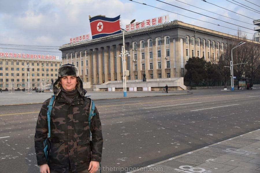 North Korea Tour, Kim Il Sung Square