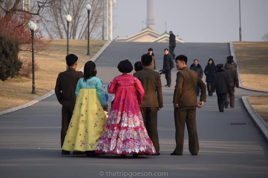 North Korean Wedding Party