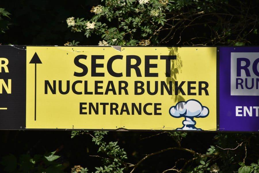 Dark tourist hotspot, Secret Nuclear Bunker, Essex
