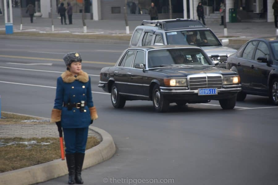 Traffic Policewoman, Pyongyang