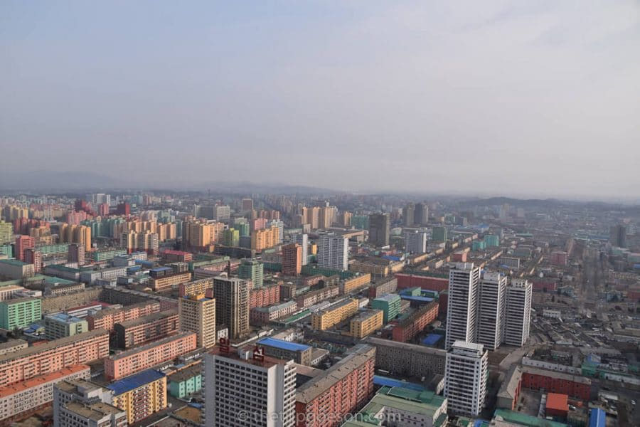 View from the Juche Tower