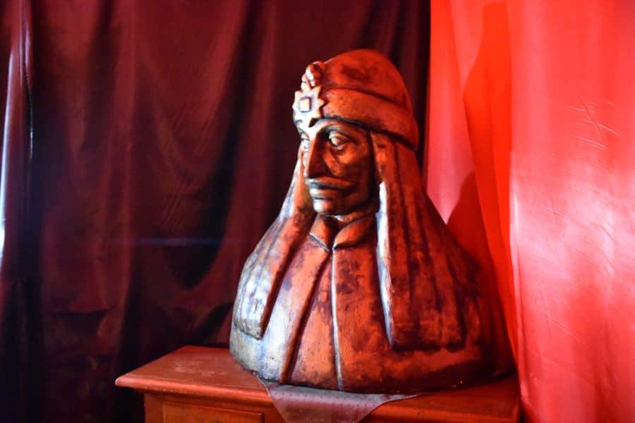 Vlad Tepes, Sighisoura, Romaina, the original dark tourist