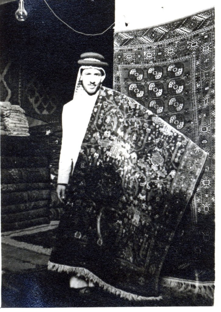Carper sellers in the bazaars, Baghdad, Iraq