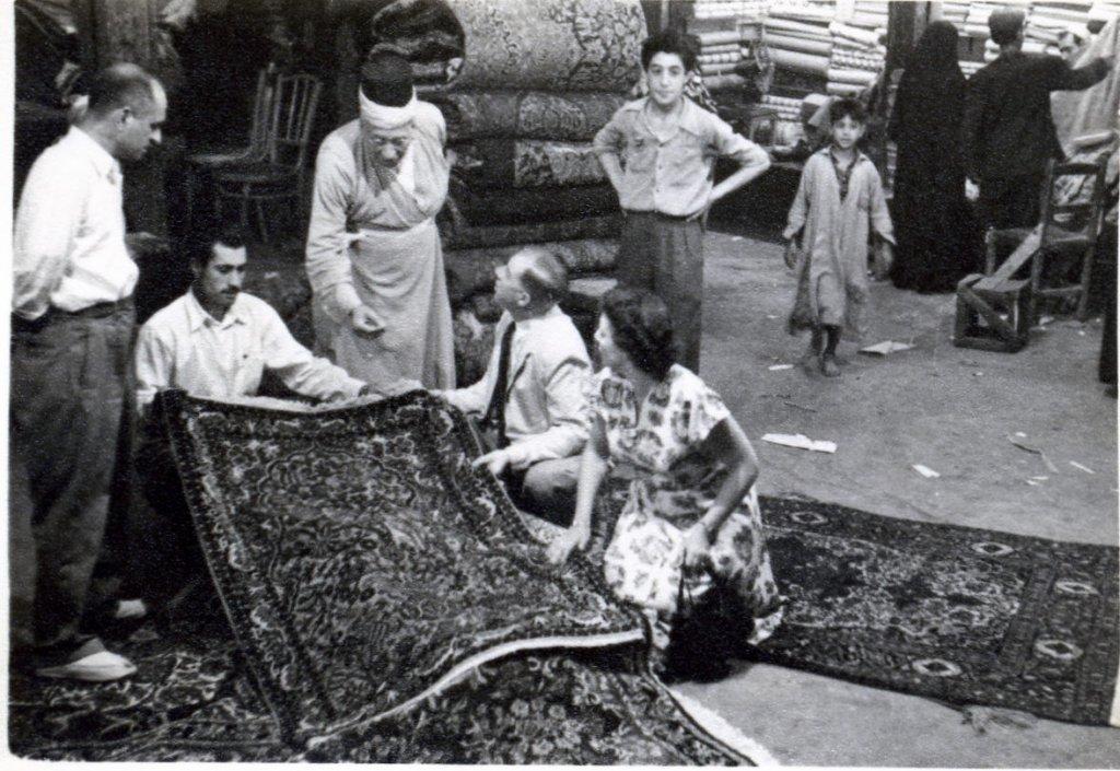 Carper sellers, Baghdad, Iraq