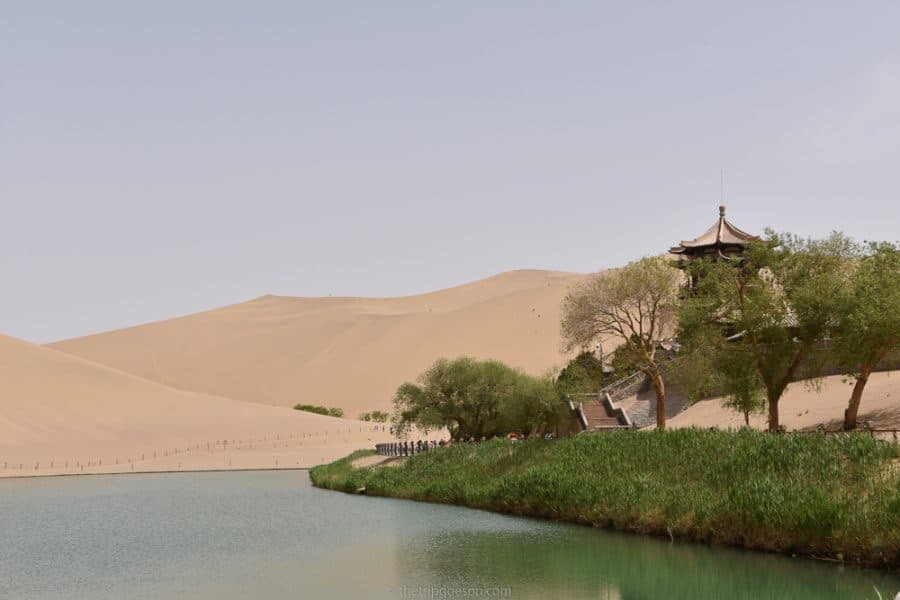 Crescent Lake, Dunhuang, Silk Road