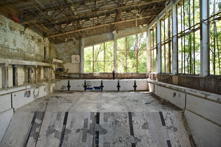 Pripyat Swimming Pool, Chernobyl