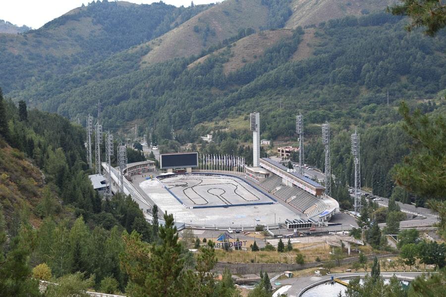 Medeu, Almaty