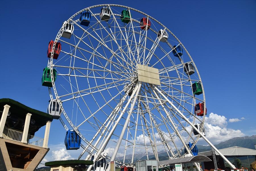 Ferris wheel, Kok Tobe