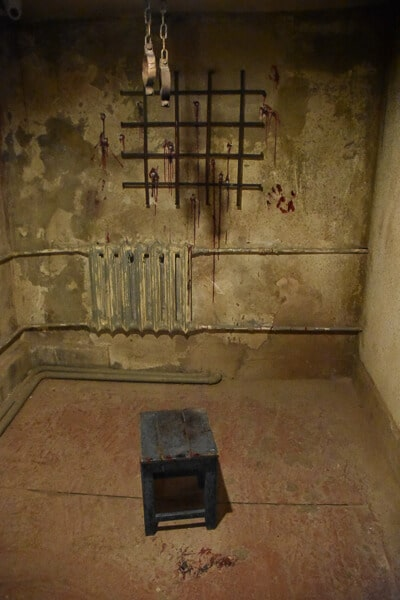 Interrogation Room in the gulag