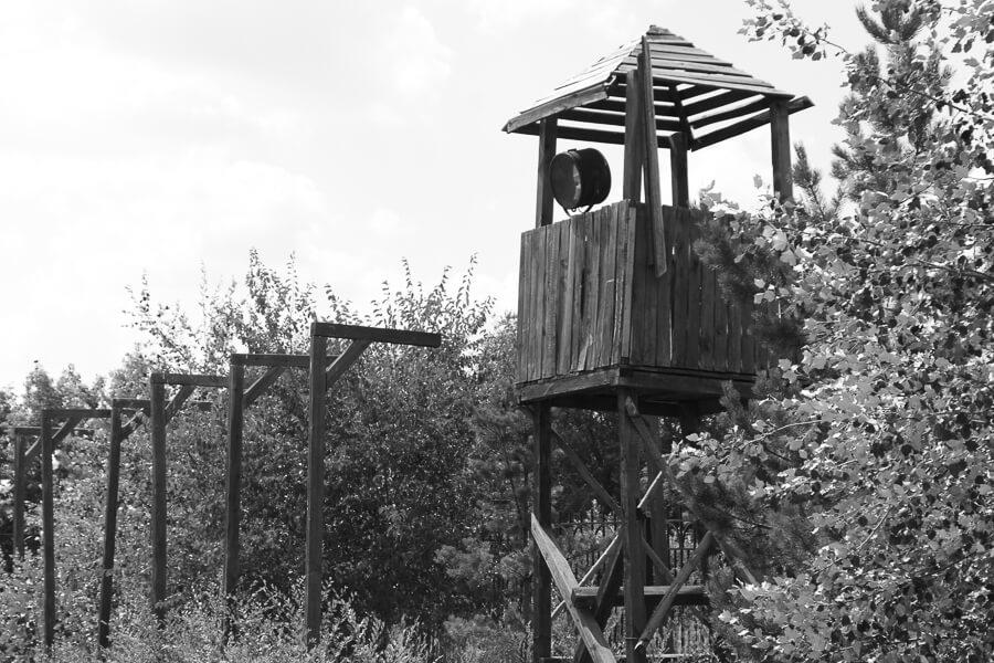 Guard tower, Karaganda gulag
