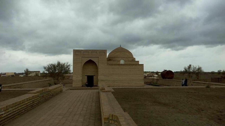 Turkmenistan Mausoleum