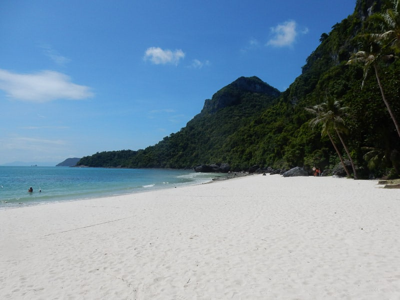 Pristine Beach at Koh Mae Koh