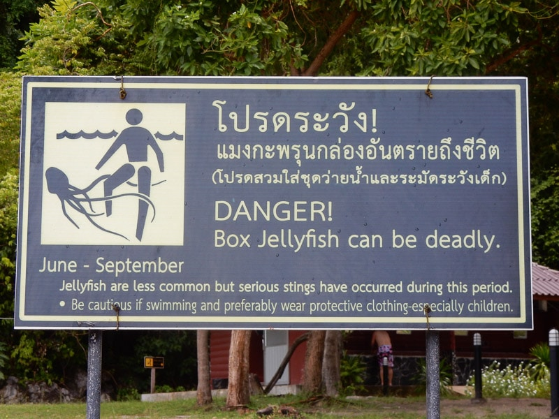 Dangers at Angthong Marine Park
