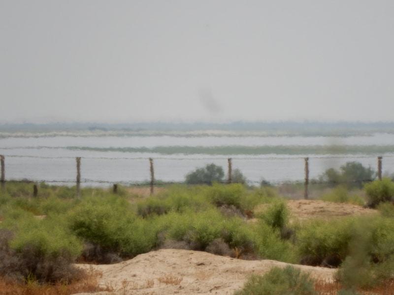 Amu Darya River and Afghanistan