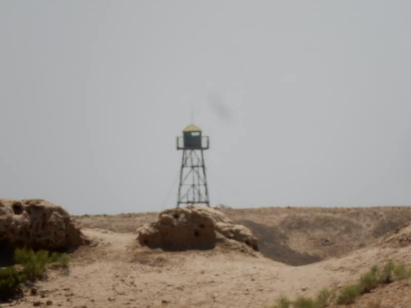 Guard Tower, Afghanistan Border