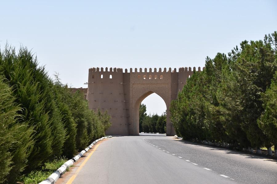 Al Hakim at Termizi Mausoleum