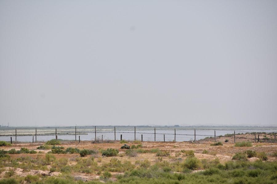Amu Darya River, Uzbekistan and Afghanistan border