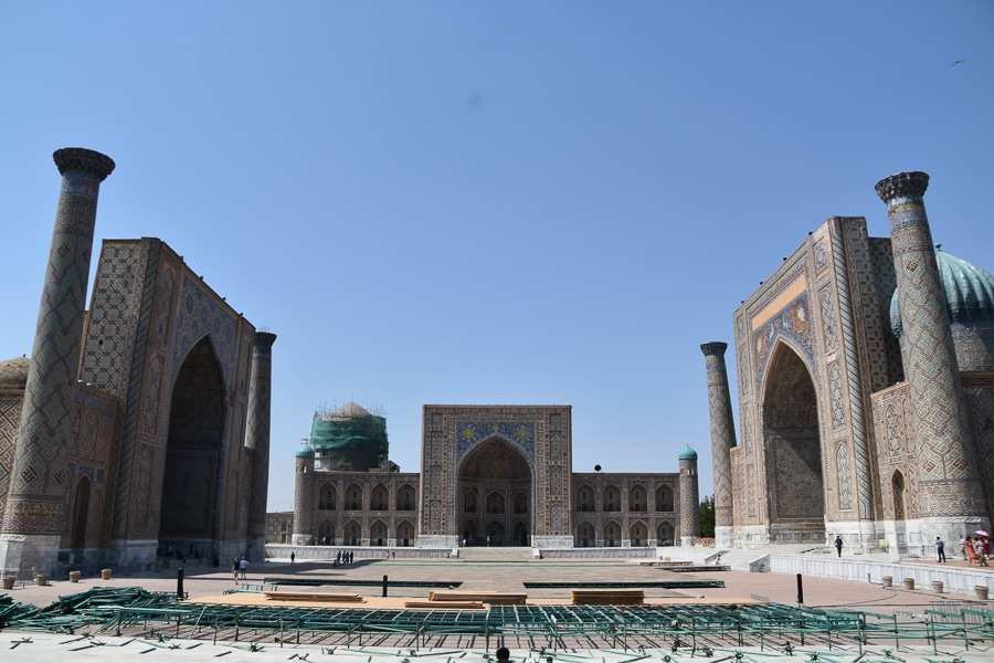 Silk Road Travel - Registan Square, Samarkand