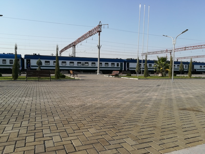 Termiz Rail Station