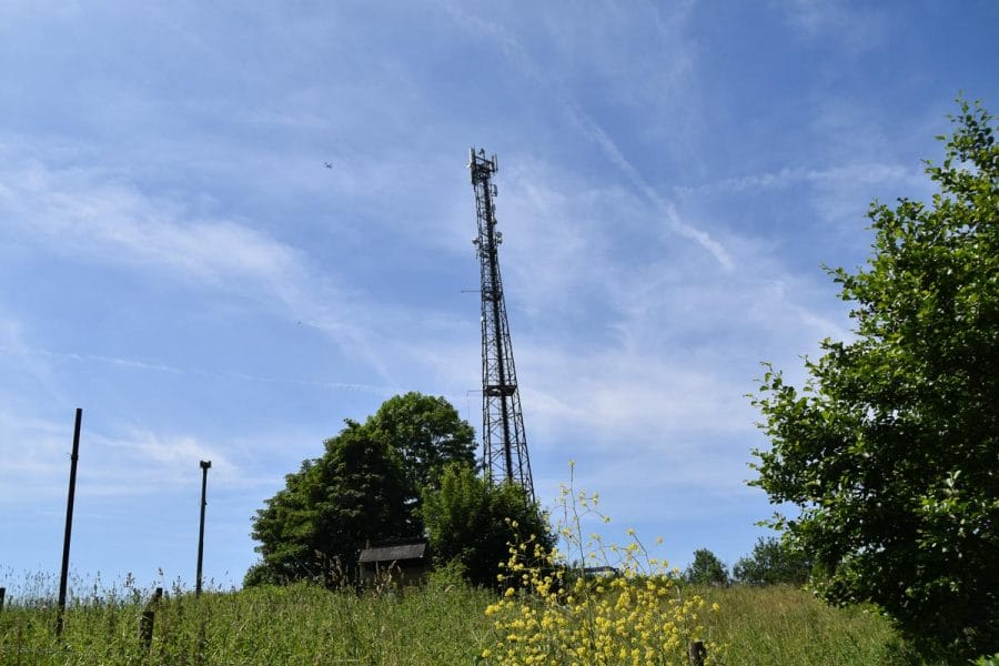 radio Mast at Kelvedon Hatch
