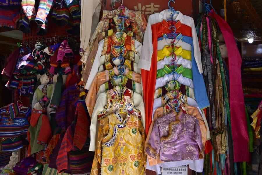 Shops in Lhasa